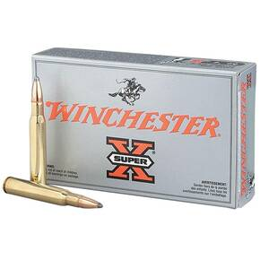 Winchester Super-X Rifle Ammunition 6.5x55 140 gr SP 2550 fps - 20/box