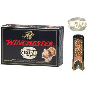 "Winchester Supreme Double-X Magnum Turkey 12 ga 3 1/2"" MAX 2 1/4 oz #4 1125 fps - 10/box"