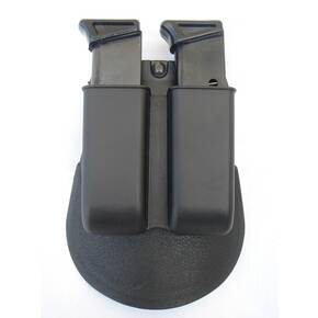 Fobus . 22,.380, & .32 Caliber Double Magazine Paddle Pouch Single Stack