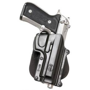 Fobus Standard Paddle Holster for Beretta 92|Beretta 96 Black Left Hand