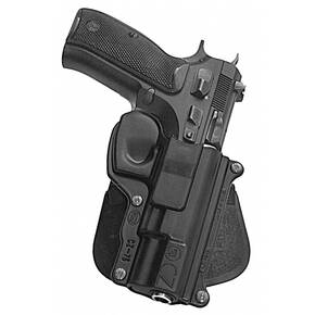 Fobus Standard Paddle Holster for CZ 75 9mm Black Right Hand