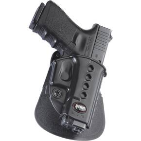Fobus Evolution Series Paddle Holster For Glock 17/19/23/33 in Black Right Hand