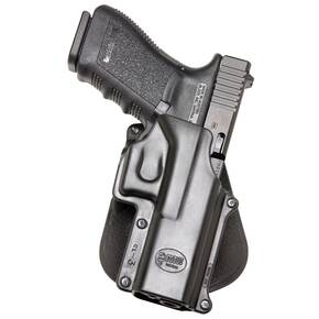 Fobus Standard Paddle Holster for Glock 20|Glock 21|Glock 37|Glock 38 Black Right Hand