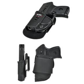 Fobus Ruger LCP Evolution Belt Holster Left Hand
