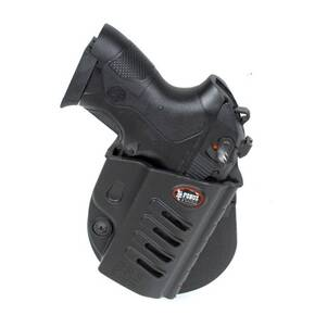 Fobus Evolution Series Paddle Holster For Beretta Px4 Storm in Black Right Hand