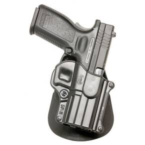 Fobus Standard Paddle Holster for Springfield XD Black Right Hand