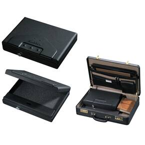 "Stack-On Portable Personal Security Case with Electronic Lock - 11""x8-1/4""x2-3/8"""