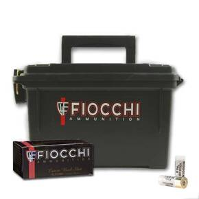 "Fiocchi Nickel-Plated High-Velocity Buckshot 12 ga 2 3/4"" #00 Buck - 80/box"