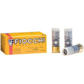 Fiocchi Aero Low Recoil Rifled Slug 12 ga 2 3/4 1 oz - 10/box