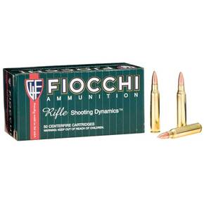 Fiocchi Rifle Shooting Dynamics Rifle Ammunition .223 Rem 62 gr FMJBT 3000 fps - 50/box