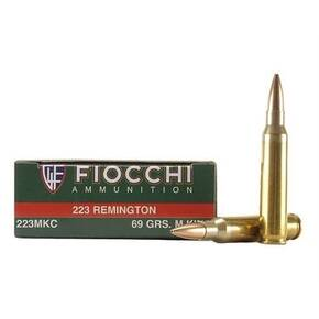 Fiocchi Exacta Match Rifle Ammunition .223 Rem 69 gr HPBT 2735 fps - 20/box