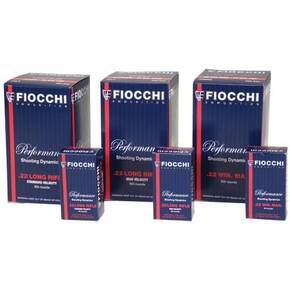 Fiocchi Performance Shooting Dynamics Rimfire Ammunition .22 LR 38gr PHP 50/box