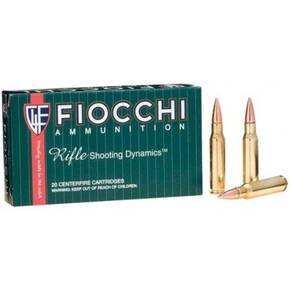 Fiocchi Rifle Shooting Dynamics Rifle Ammunition .308 Win 150 gr FMJ 2890 fps - 20/box