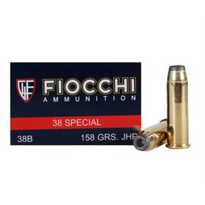 Fiocchi Pistol Shooting Dynamics Handgun Ammunition .38 Spl 158 gr JHP 850 fps 50/box
