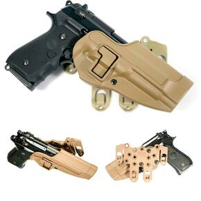 Blackhawk! S.T.R.I.K.E. Serpa Holster Right Hand - Coyote Tan