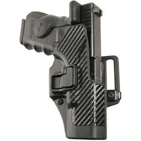 Blackhawk! SERPA CQC Holster Carbon Fiber for Glock 17/22/31 Right Hand Black