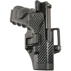 Blackhawk! SERPA CQC Holster Carbon Fiber for Ruger P85/P89 Right Hand Black