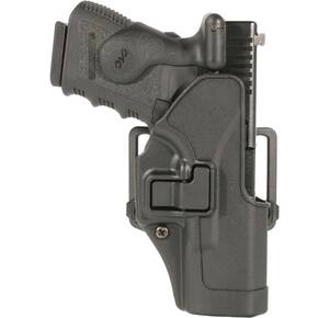 Blackhawk! SERPA CQC Concealment Holster Matte Finish S&W J-Frame Black Left Hand