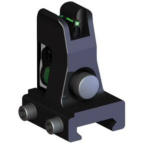 Truglo Fiber Optic AR-15 Front Gas Block Sight - Green Front