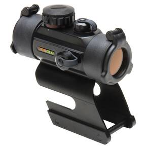 Truglo 30mm Red Dot Sight Dual Color Dot w/ Integral Remington Shotgun Mount - Black