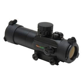 Truglo Gobble Stopper 30mm Dual Color Red Dot Sight - Illum. 3 MOA Center Dot Reticle Matte