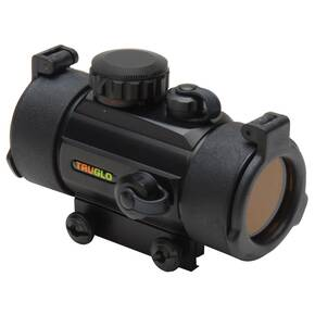 Truglo Traditional Red Dot Sight - 1x40mm 5 MOA Red Dot - Matte
