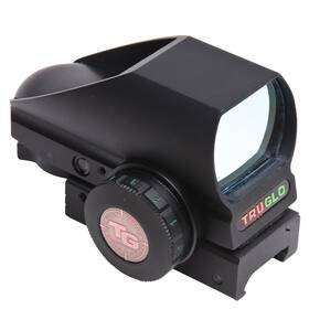 Truglo Trajectory Compensating Crossbow Dual Color Open Red Dot Sight