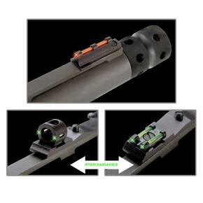Truglo Tru-Bead Turkey Universal Sight Set Rear Ghost Ring & Notched Rear Sight