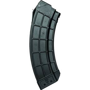Century Arms US Palm AK30 Magazine w/Stainless Steel Latch Cage fo AK-47 30rd Black