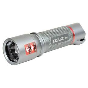 Coast HP7 High Performance Focusing Flashlight- Titanium