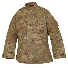 Tru-Spec Tactical Response Uniform (TRU) Shirt - 65/35 Polyester/Cotton Rip-Stop MultiCam Small