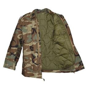Tru-Spec M-65 Field Coat w/Liner - Woodland Small