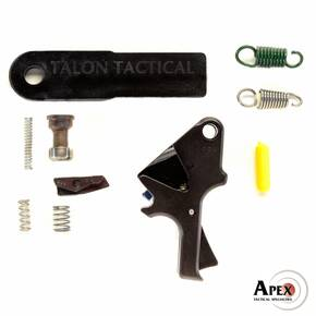 Apex Flat-Faced Forward Set Sear & Trigger Kit Fits Centerfire S&W M&P Pistols