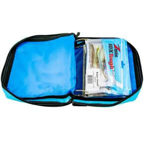 "Z-Man ElaZtech Bait BinderZ Storage Binder  10"" x 9"" - Blue"