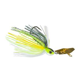 Z-Man Project Z Chatterbait Weedless Lure Jig Bladed 1/2 oz - Chartreuse Sexy Shad