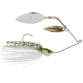 Z-Man SlingbladeZ Spinnerbait Double Willow Spinner Lure 1/2 oz - W/W Greenback Shad