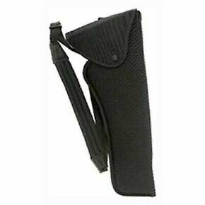 "Uncle Mike's Scoped Bandolier Hunting Holsters Black - 6"" - 7-1/2"" Barrel Sgl. Act. Rev"