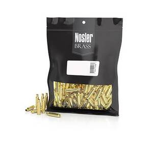 Nosler Unprimed Unprepped Brass Rifle Cartridge Cases .204 Ruger 250/ct (BULK)