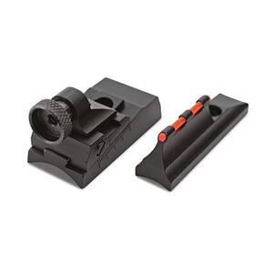 Traditions Peep Sight Fiber Optic Sight System Fits Traditions & CVA Straight Non-tapered Barrels