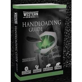 Accurate Western Powders Handloading Guide - Edition 1, Full Color 488 Pages