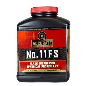 Accurate No. 11FS Handgun Powder 1lbs