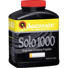 Accurate Solo 1000 Shotgun Powder 12 oz