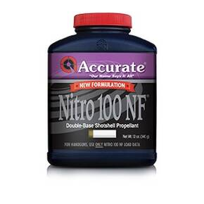 Accurate Nitro 100 NF Shotgun Powder 8 lbs