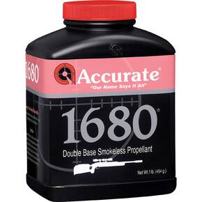 Accurate 1680 Rifle Powder 8 lbs