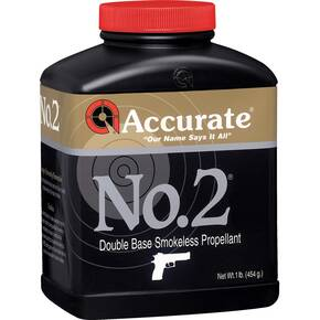 Accurate No. 2 Handgun Powder 1 lbs
