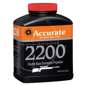 Accurate 2200 Rifle Powder 1 lbs