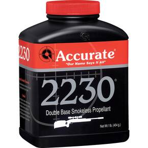 Accurate 2230 Rifle Powder 8 lbs