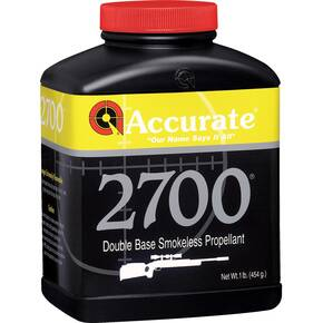 Accurate 2700 Rifle Powder 8 lbs