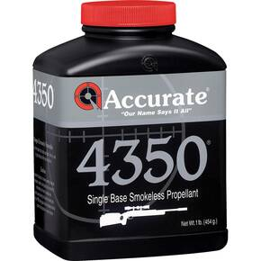 Accurate 4350 Rifle Powder 1 lbs