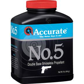 Accurate No. 5 Handgun Powder 1 lbs